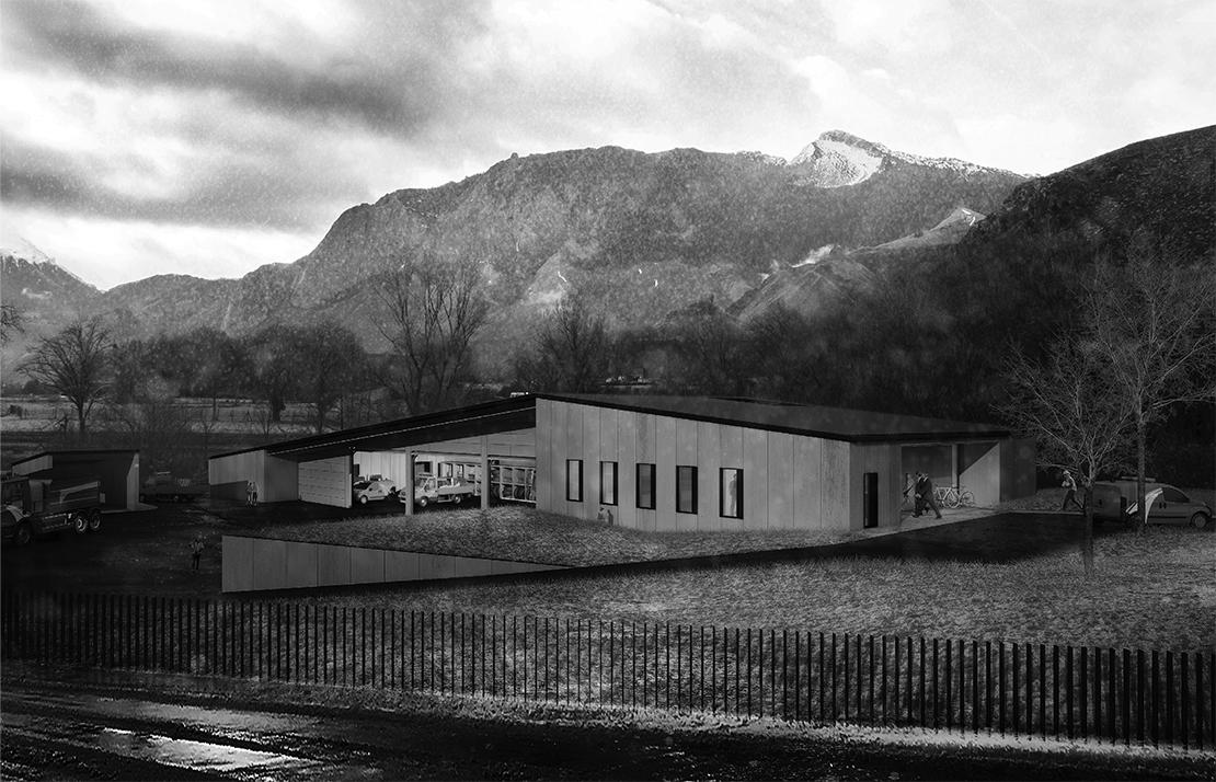CONSTRUCTION DU CENTRE D'ENTRETIEN ET D'INTERVENTION DE SAINT-BE